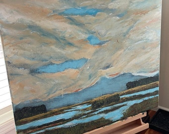 Lowland marsh