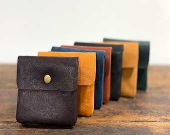 100% handmade wallet soft cow leather
