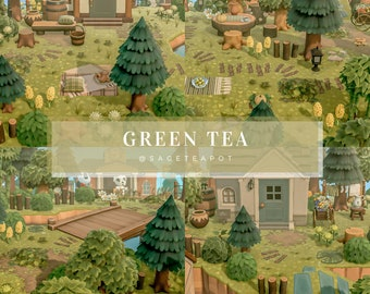 Green Tea - Animal Crossing Lightroom Preset