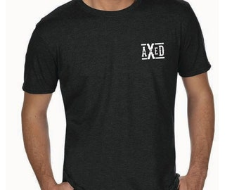 AXED Men's T-Shirt, Black Shirt (Use Coupon Code for Local Delivery)