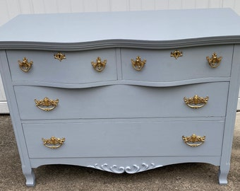 Vintage Antique Wooden Sidebar Buffet Makeover, Dresser (PICKUP or NEARBY DELIVERY)