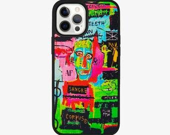Coque iPhone Basquiat Sangre