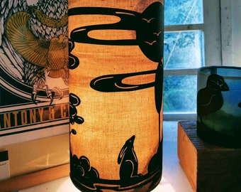 Hare and Moon Table Lamp