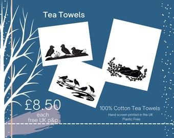 Printed Cotton Tea Towels