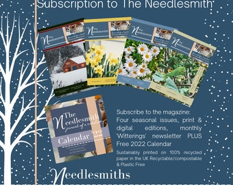 Subscription - The Needlesmith ~ journal of a creative