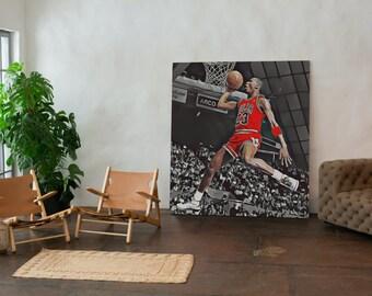 """SneakerHead X HypeBeast """"Micheal Jordan"""" Wall Art 2 Pack with BONUS Art"""