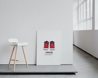 "SneakerHead X HypeBeast ""Curator"" Wall Art"