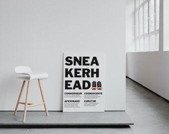 "SneakerHead X HypeBeast ""Bred"" Wall Art 2 Pack with BONUS Art"