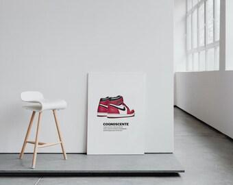 "SneakerHead X HypeBeast ""Cognoscente"" Wall Art"