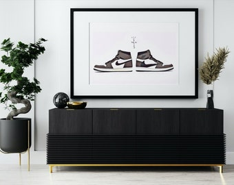 "SneakerHead X HypeBeast ""Cactus Jack"" Wall Art 2 Pack with BONUS Art"