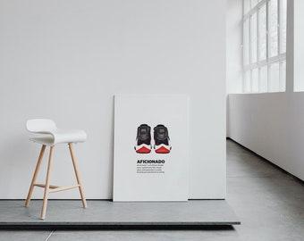 "SneakerHead X HypeBeast ""Aficionado"" Wall Art"