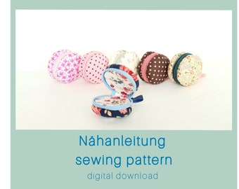 PDF Pattern * Nähanleitung * Sewing Pattern * Digital Downlaod * Macaron * Macarons * Macaron Täschchen *