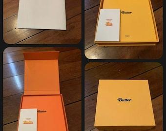 BTS Official Butter CD Set Peaches + Cream (no photocard)