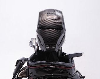 Carbon Fiber Painted Iron Man MK-III Golf Head Cover