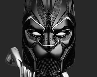 Black Panther Golf Driver Headcover