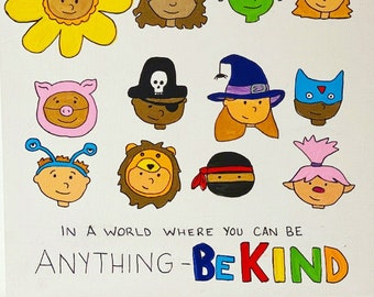 Be Kind Kids Sticker