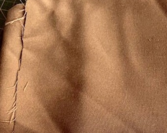 Copper Coloured Suit Weight Wool