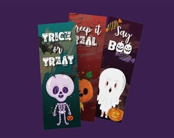 Bookmark Halloween Set