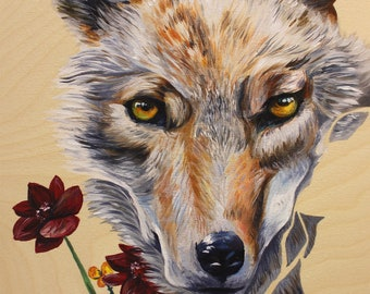 Original painting 'Coyote'