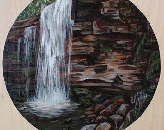 Original Landscape painting 'Hilton Falls'