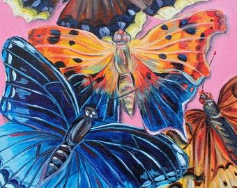 Original Butterfly painting 'Ontario Butterflies (1)'