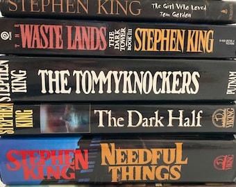 Stephen King Books - Choose One