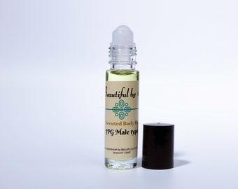 JPG (type)M-One 10 ml roller bottle of Scented Body Oil