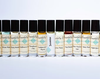 Delicious (type)- One 10 ml roller bottle of Scented Body Oil
