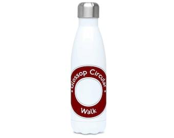 Glossop Circular Roundel Water Bottle 500ml