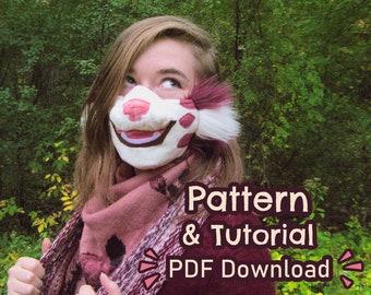 Plush Animal Mask Pattern [PDF Download]