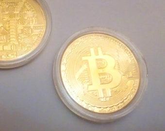 Bitcoin Coin Gold SILVER
