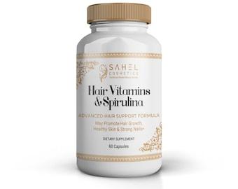 Hair vitamins & Spirulina