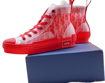 red high top shoes unisex adult shoesshoes women sneakersmen's shoeschristmas gifts