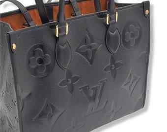Women's shoulder bag black leather