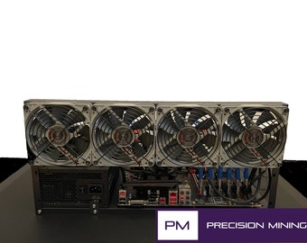 Cryptocurrency Mining Rig - Add your own GPUs [up to 6]