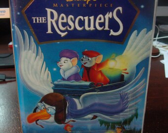 Walt Disney Masterpiece The Rescuers VHS Video Tape NEW SEALED 1998