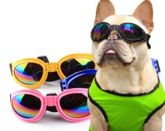 Pet Sunglasses For Small Medium Large Dog Waterproof Pet Glasses Dog Goggles Eye Wear