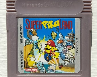 Super Pika Land Gameboy Game Cartridge