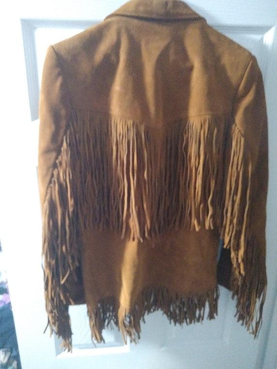 Vintage 1970s Suede Leather Jacket