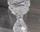 4 Signed Libbey liquor American Brilliant Period hand Cut Glass blown