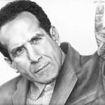 Drawing Print of Tony Shalhoub as Monk