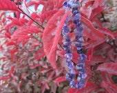 Amethyst Gemstone Stretchy String Bracelet G158 photo