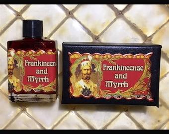 Frankincense and Myrrh Perfume Oil
