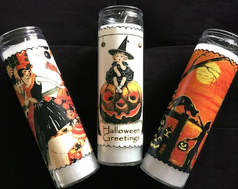 7 Day Candles - Halloween