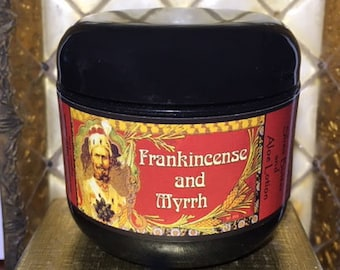 Frankincense and Myrrh - Shea Butter & Aloe Lotion