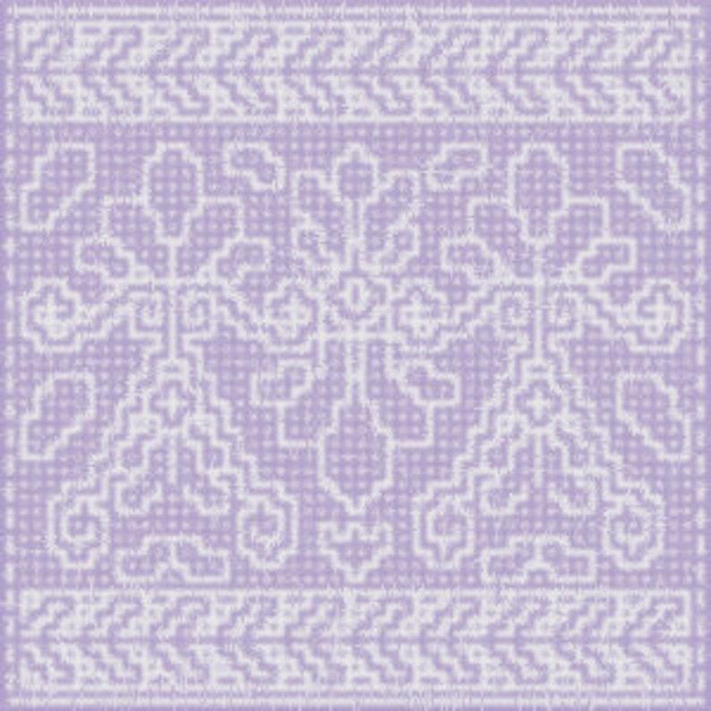 Elegant Pillow Mosaic Crochet Pattern image 0