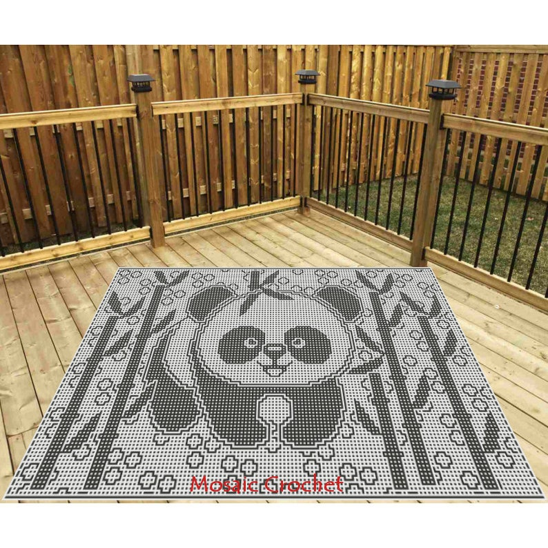 Cuddly Cuties Collection  Perry the Panda Stadium Throw image 0
