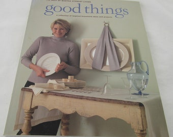 "Paperback ""The Best of Martha Stewart Living: Good Things 1997 Pristine Condition"