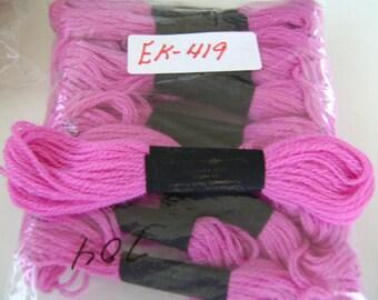 Paragon Yarn Needlepoint Crewel 100% Wool Light Magenta #704