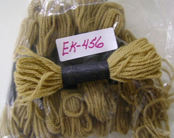 Yarn, Paragon, 100% Wool Crewel Needlepoint, Color #630 Olive Green, 8.8 Yards